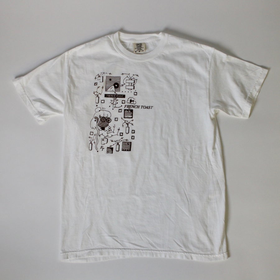 Image of White Vases Sketch Tee