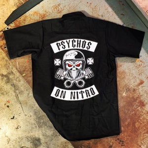Image of Psychos on Nitro Workshirt