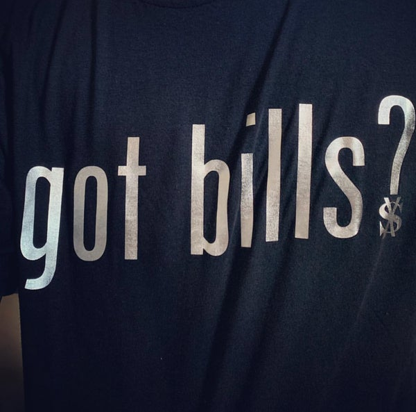 Image of Got bills SILVER