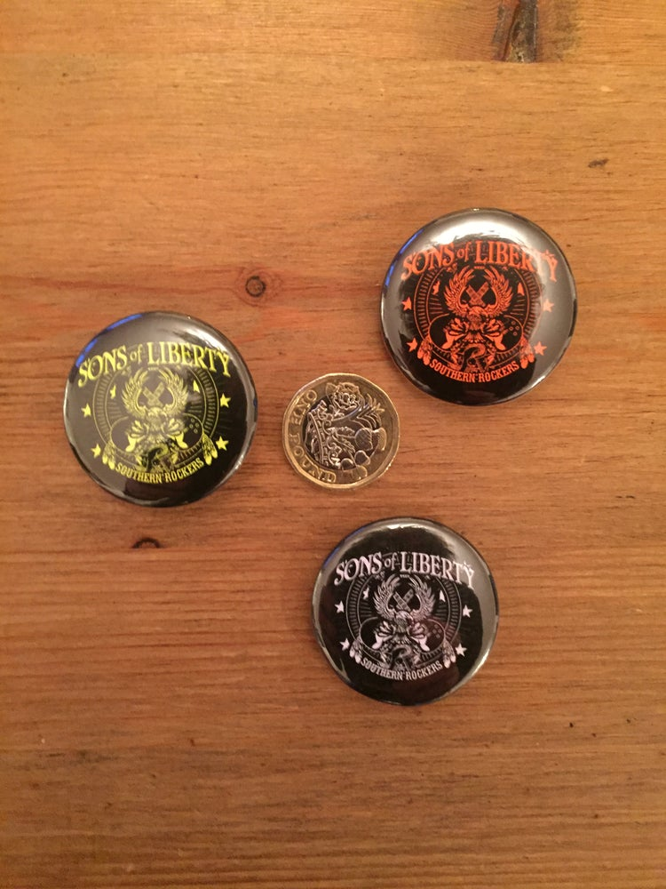 Image of Metal Badge - Southern Rockers
