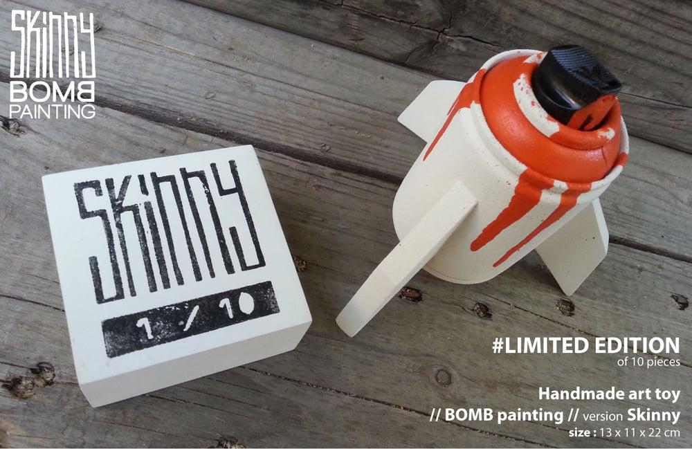 /// Skinny // BOMB painting