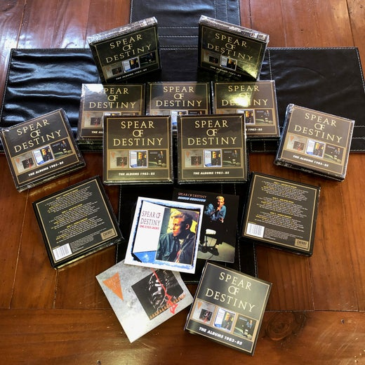 SPEAR of DESTINY 'The Albums 1983-85' Three Disc Deluxe Box Set + Bonus Download