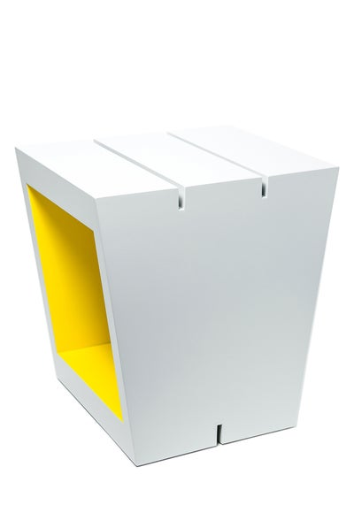 Image of W - Buchstabenhocker / letter stool