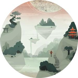 Image of IFS014: Cluekid - Mistik World EP + Artwork Print + Digital copies [FULL SLEEVE ARTWORK]