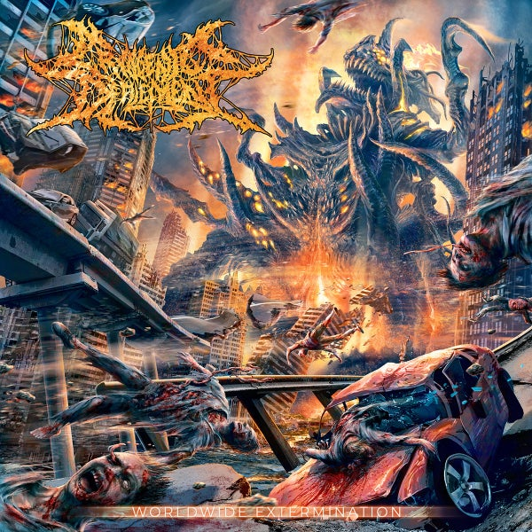 Image of CRYOGENIC DEFILEMENT - Worldwide Extermination CD