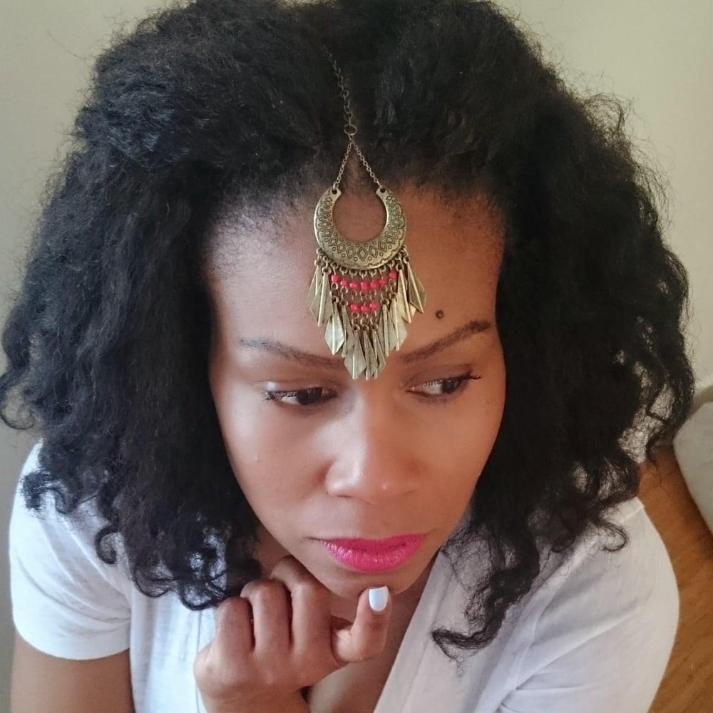 "Image of ""Nikka"" Tikka Headpiece"