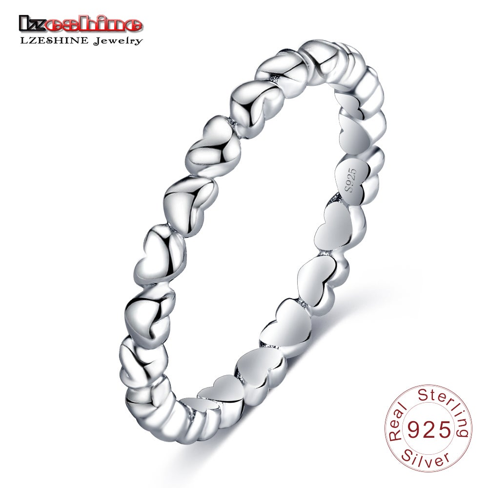 Image of Discounted LZESHINE Romantic Ring For Women Authentic 925 100% Solid Sterling