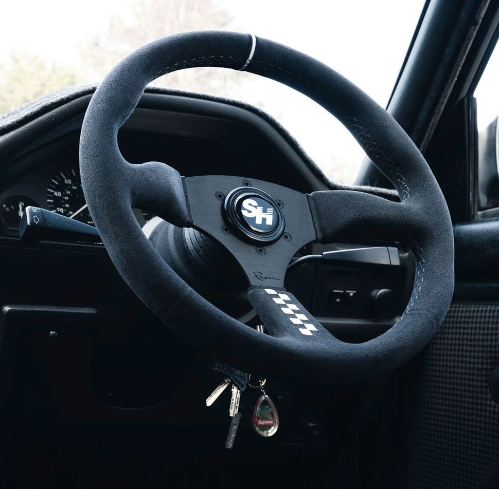 Image of LIMITED Speedhunters x Renown 100 V2 Steering Wheel