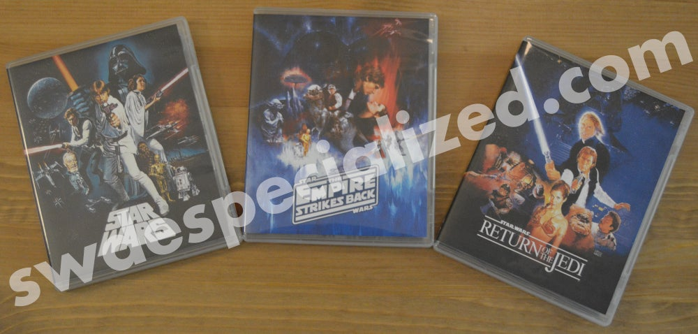 SW Despecialized Original Trilogy Blu-ray Set + Documentaries