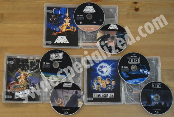 Image of SW Despecialized Original Trilogy Blu-ray Set + Documentaries