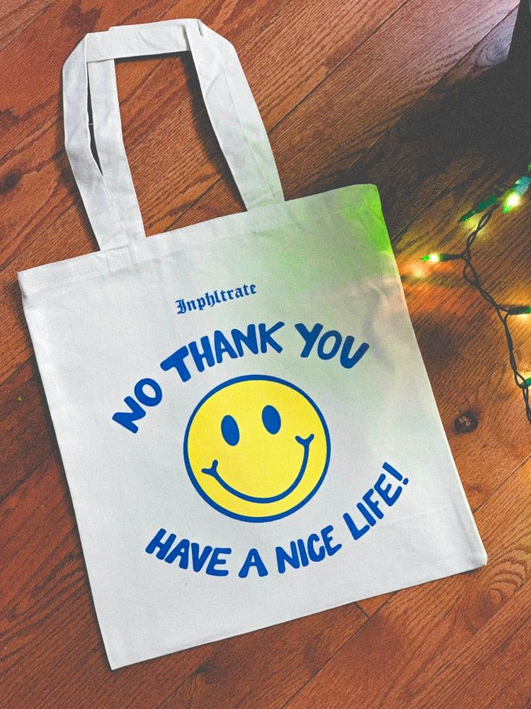 Image of No Thank You Tote Bag