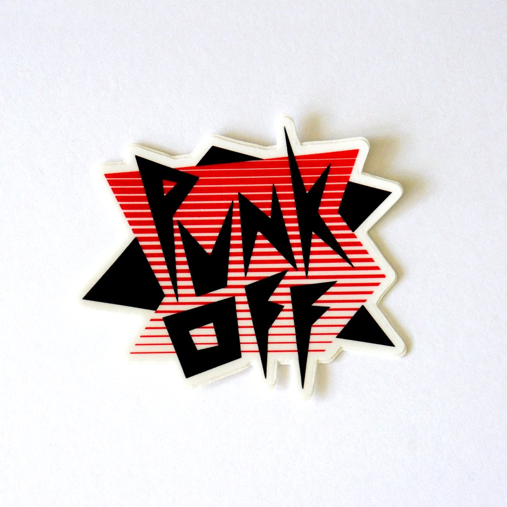 Image of Punk Off Sticker