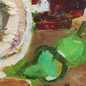 Image of 1971 Still Life, 'Pineapple,' Hans Larsson