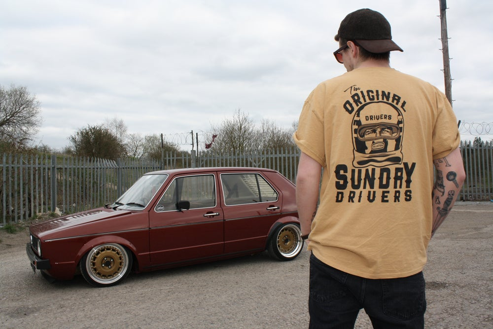 Image of Gold Sunday Driver Tee