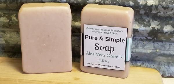 Image of Pure & Simple -Aloe Vera & Oat Milk or Aloe Vera Butter