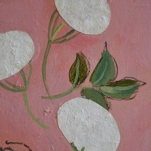 Image of Contemporary Painting, 'Elderflowers,' Poppy Ellis