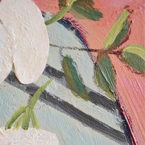 Image of Contemporary Painting, 'Elderflowers,' Poppy Ellis