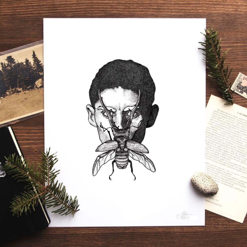 Image of Kafka (The Metamorphosis) Print