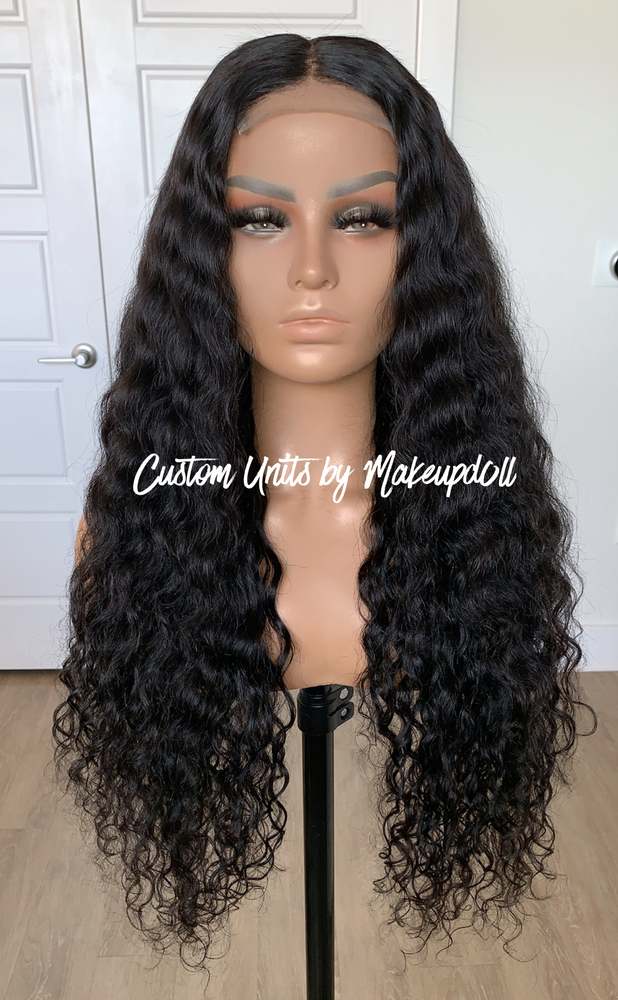 "Image of RAW Indian Natural Wave 26"" Lace Closure Wig!"