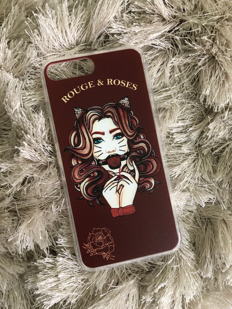 Image of Pretty Kitty iPhone Case