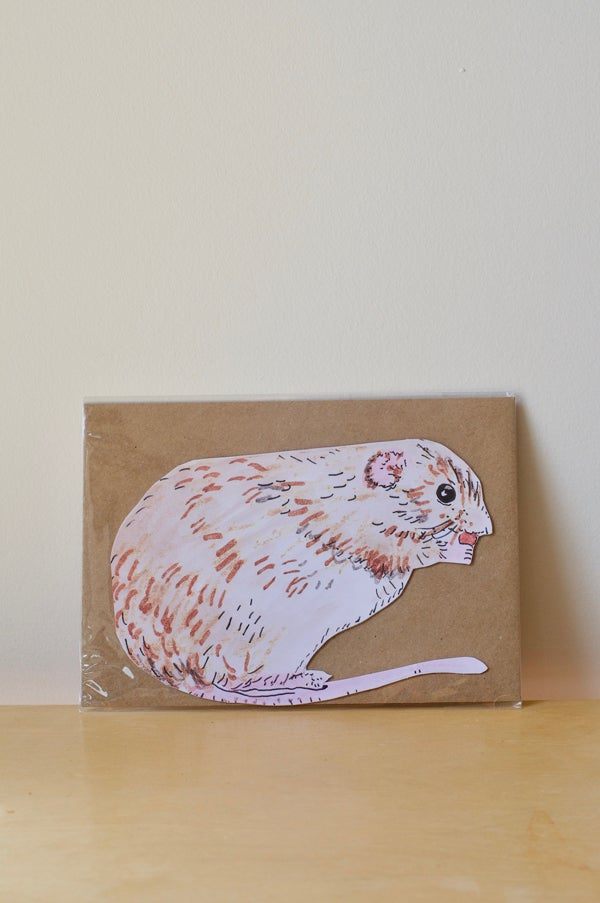 Image of Field Mouse Card