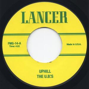 "Image of Uphill Peace Of Mind (UB Instrumental Mix) / Impeach The President (UB Instrumental Mix) - 7"" Vinyl"