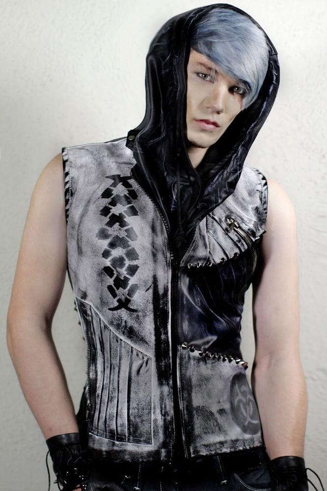 Image of Ex Nihilo White Dark Fade Vest