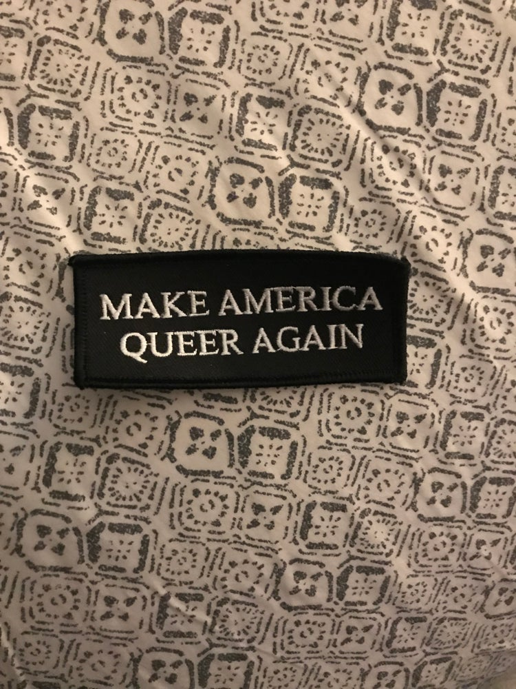 Image of make america queer again patch