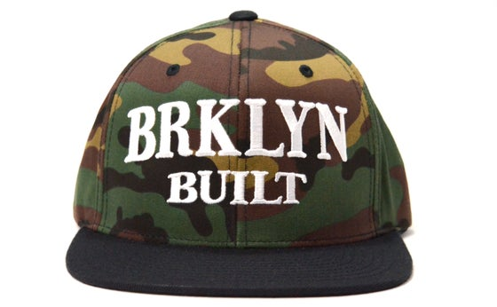 Image of BRKLYN BUILT (CAMO) - SNAPBACK