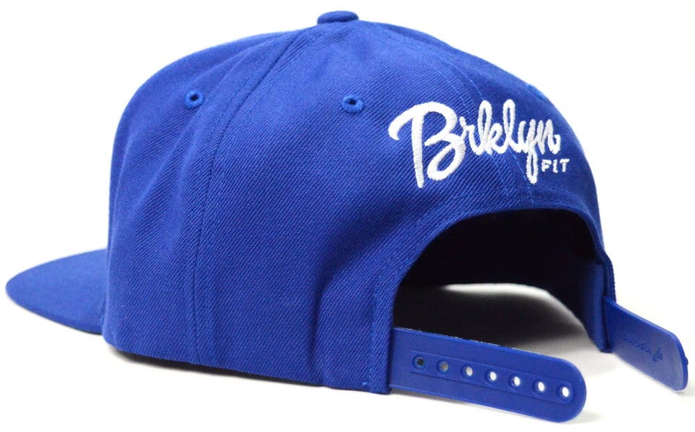 Image of BRKLYN FIT® LOGO (BLUE) - SNAPBACK
