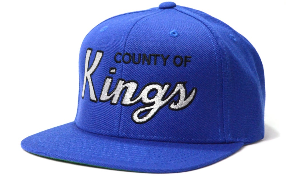 Image of COUNTY OF KINGS (BLUE) - SNAPBACK