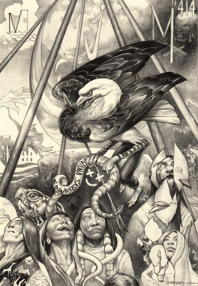 "Image of ""Turtle Island Circus"" ( original )"