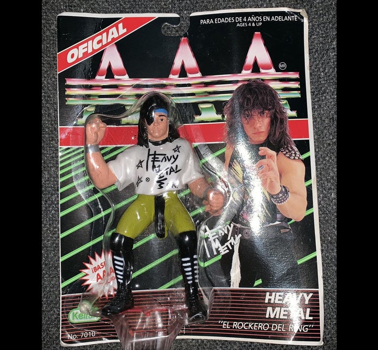 Image of 1994 Kelian Lucha Libre AAA Action Figure - Heavy Metal