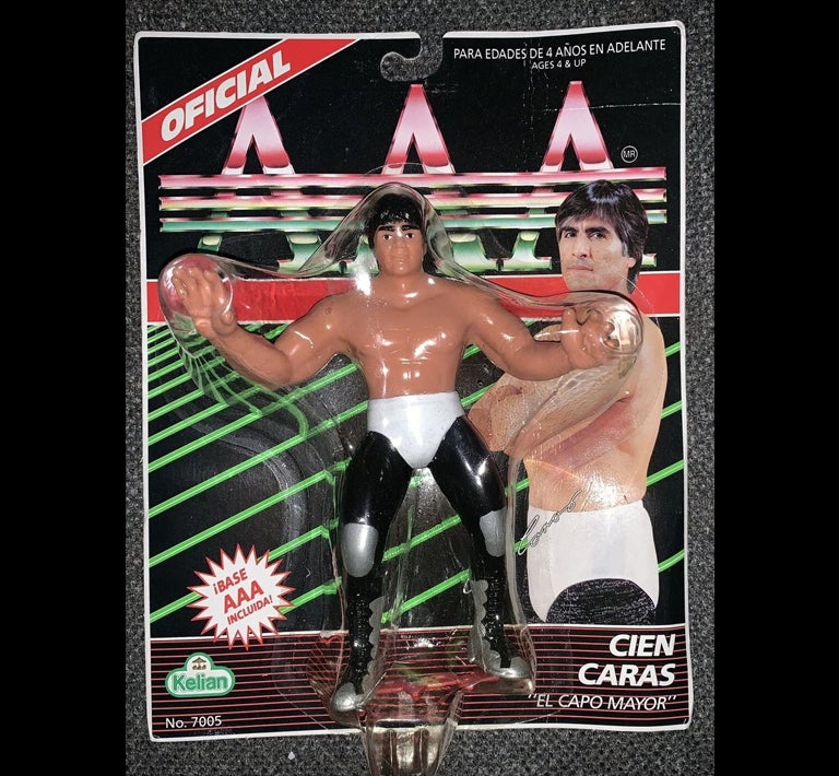Image of 1994 Kelian Lucha Libre AAA Action Figure - Cien Caras