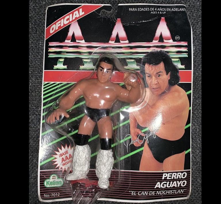 Image of 1994 Kelian Lucha Libre AAA Action Figure - Perro Aguayo
