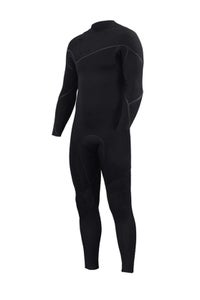 Image of ZION WETSUITS <BR> YETI ZIPPERLESS 3/2 <br> BLACK