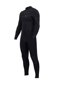 Image of ZION WETSUITS <BR> YETI 5/4/3 STEAMER <BR> BLACK