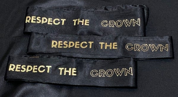 """Image of """"Respect The Crown"""" eslay"""