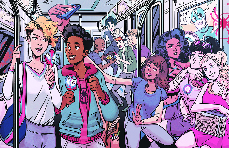 Image of Super Teens Subway Print
