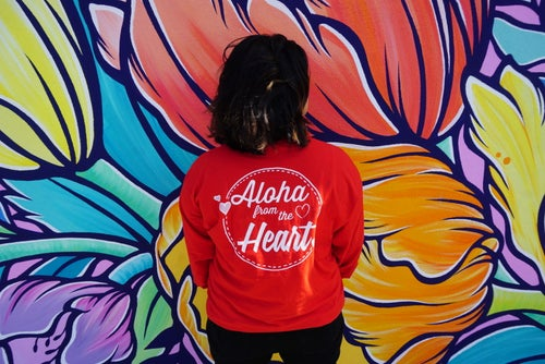 Image of Aloha from the Heart Long Sleeve