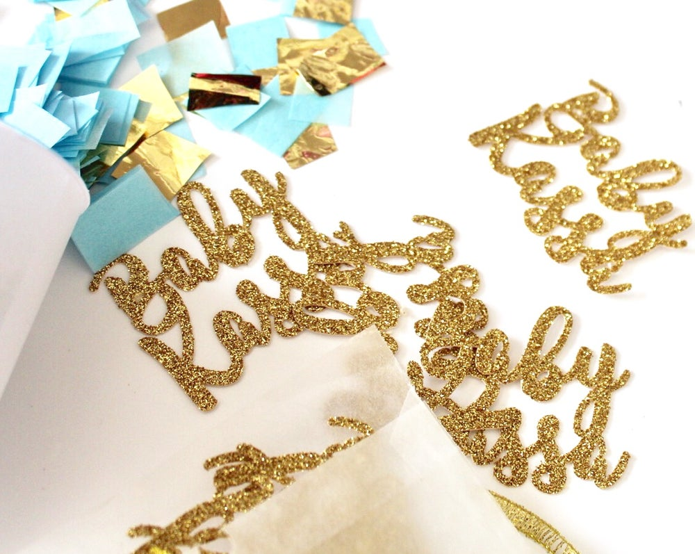 Image of Personalised confetti