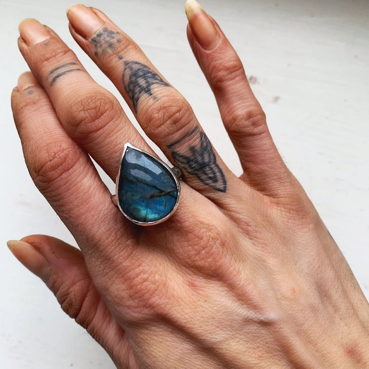 Image of Labradorite Ring