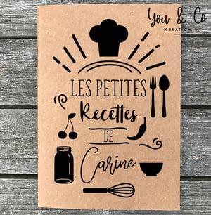 Image of Carnet de recettes personnalisable