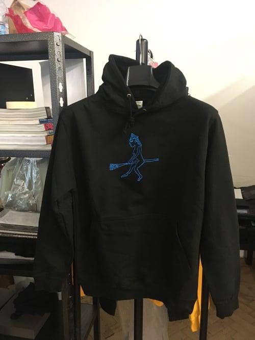 Image of Embroidered Goddess Hooded Sweatshirt