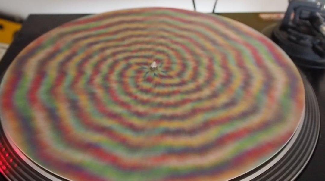 Image of Feutrine pour plastique disque - bmp color