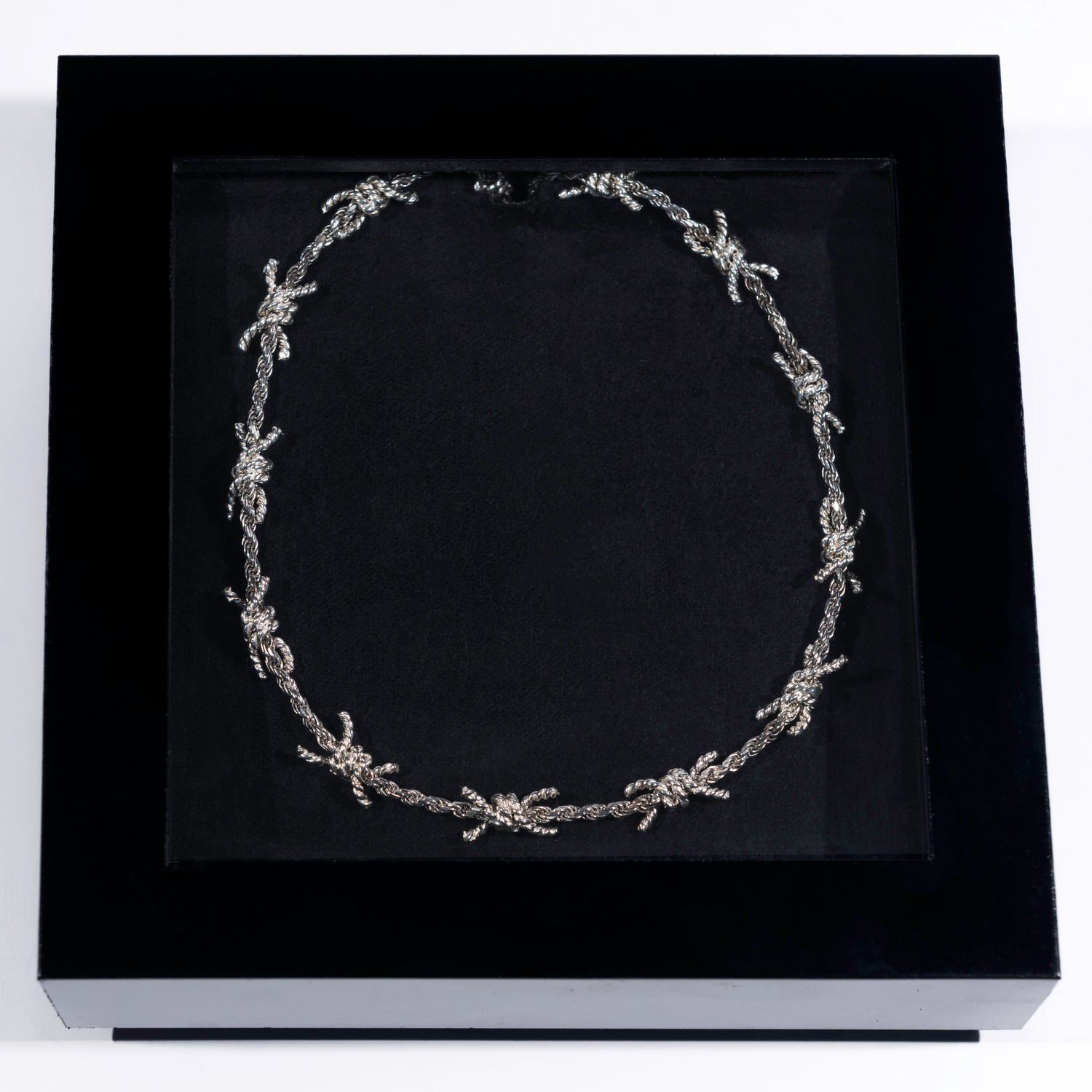 Image of Barbed Wire Necklace