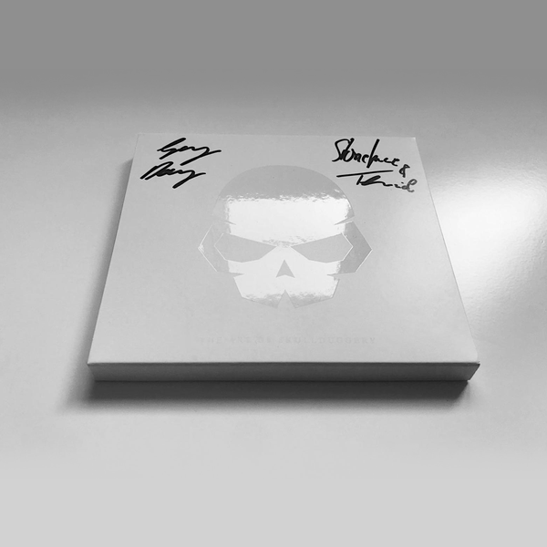 Image of THE ART OF SKULLDUGGERY -SIGNED 2XCD BOX SET MIXED BY GREG DOWNEY | STONEFACE & TERMINAL