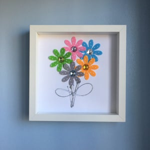 Image of Framed Bouquet