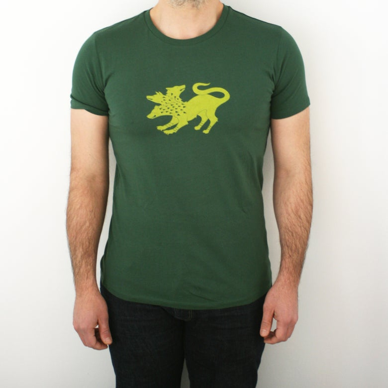 Image of Cerberus Tee - Men's Screenprinted T-Shirt