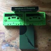 Image of Tenshun / Fivepaw split cassette tape